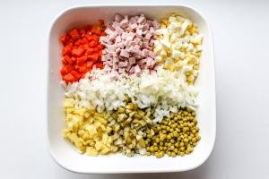 ll ingredients chopped in a bowl