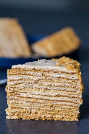 Russian Honey Cake-0