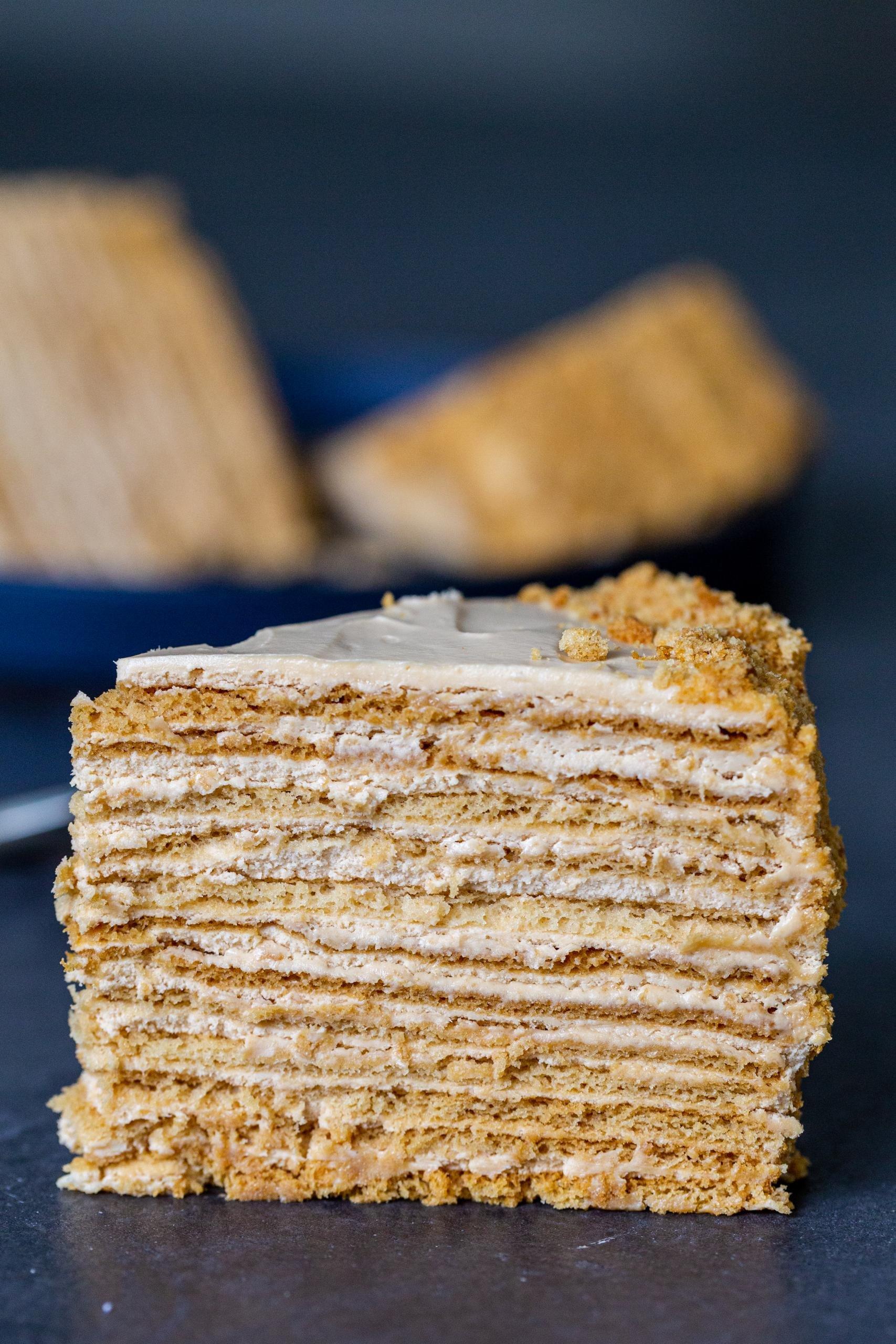 The Best Russian Honey Cake Momsdish