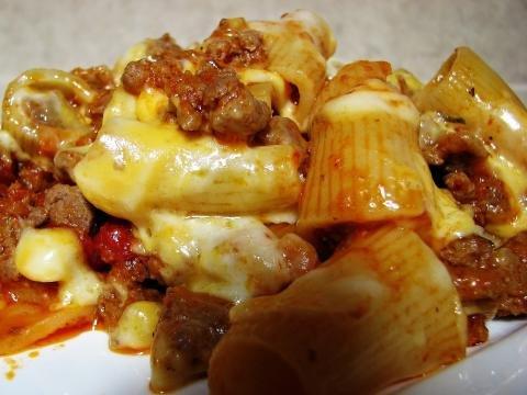 Turkey Macaroni Casserole