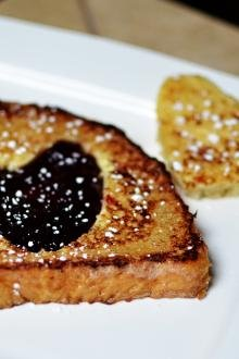 Sweet French Toast on a plate
