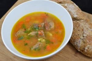 Grandma's White Bean Soup in a bowl