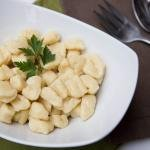 Homemade Gnocchi in a bowl