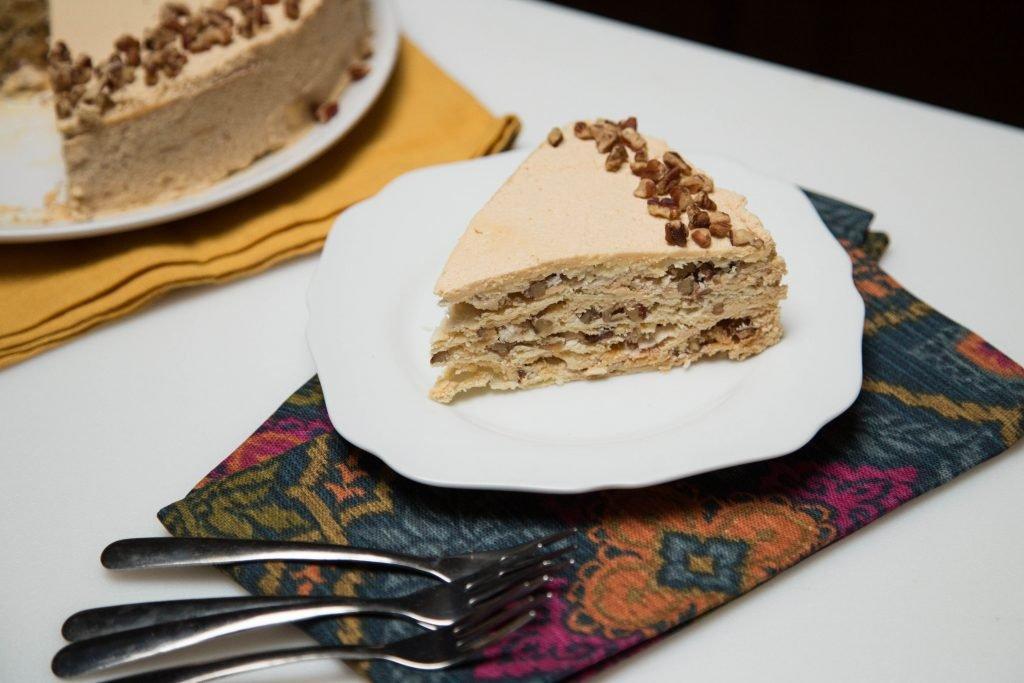 Meringue Napoleon Cake
