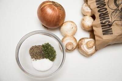 ingredients for pork roulade