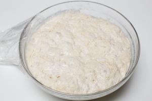 Easy bread recipe, no knead bread dough