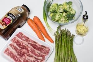 ingredients for beef stir fry