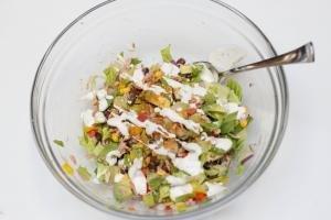 Mexican Tuna Salad in a bowl