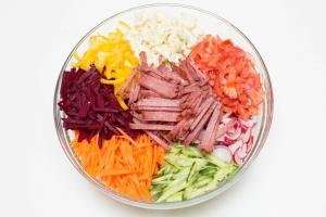 Multi Vegetable Salad in a bowl
