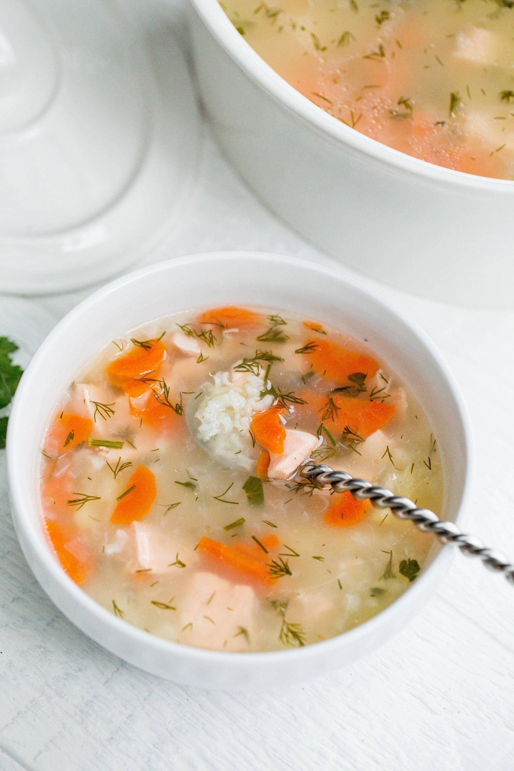 Fish Soup aka Ukha in a bowl