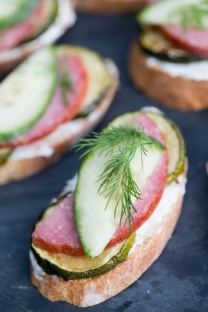 A close up of a Simple Tea Sandwiches