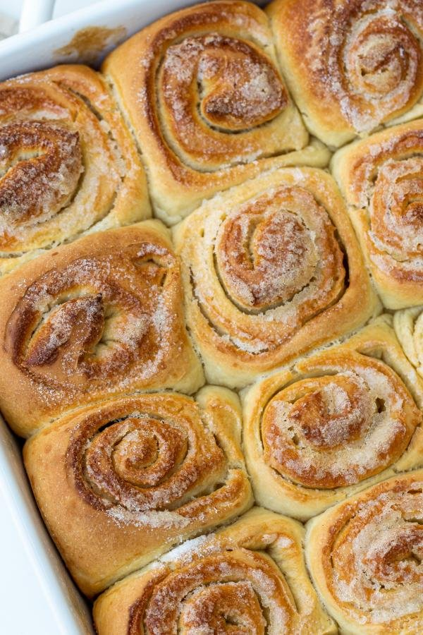 Morning Buns in a tray