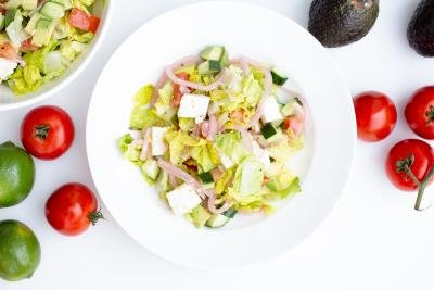 Greek Salad in a bowl