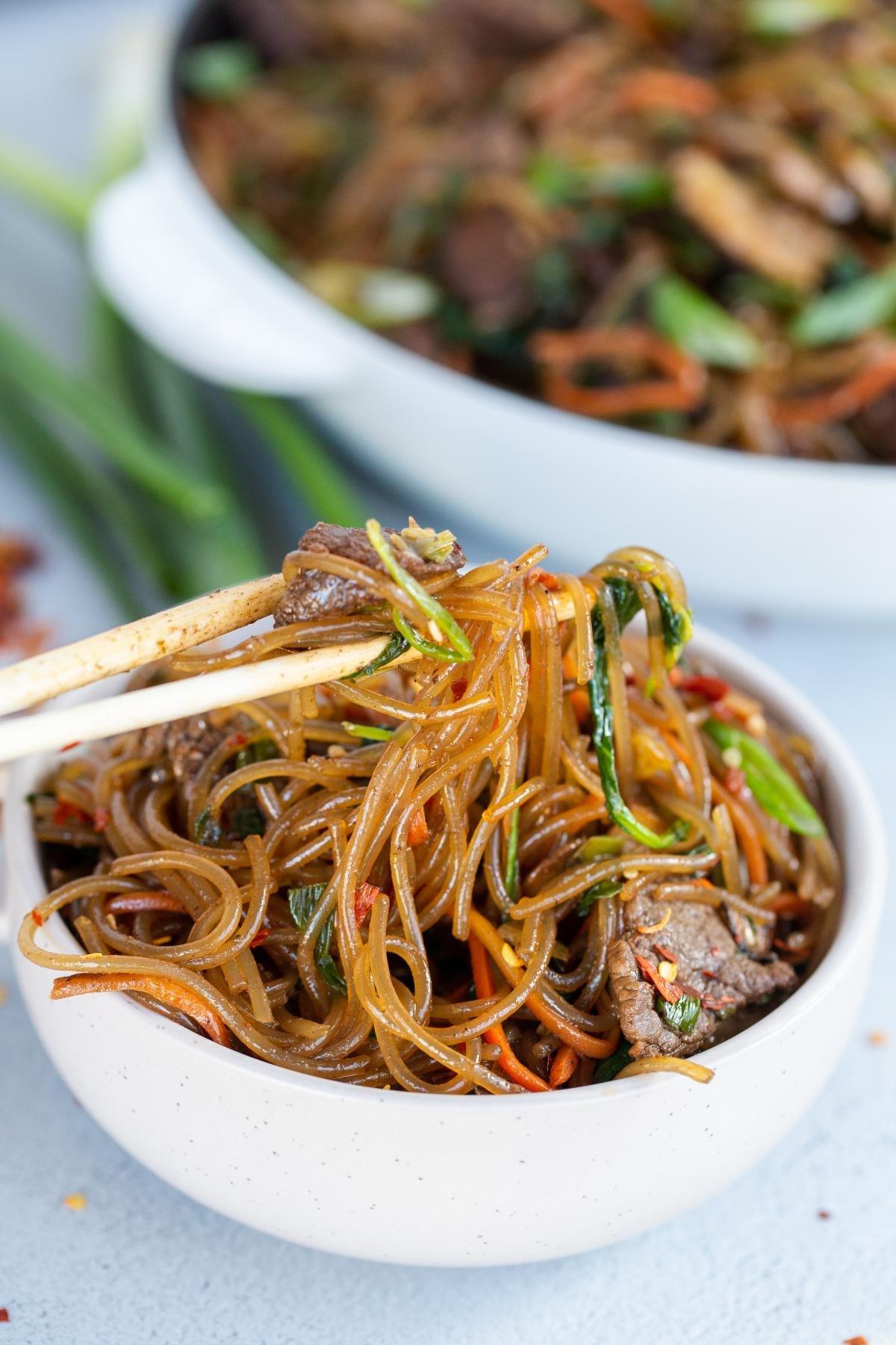Easy Korean Spicy Noodles Momsdish
