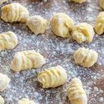 gnocchi on a floured surface