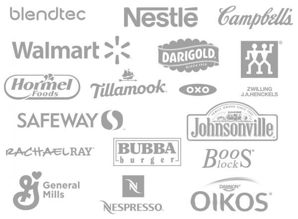 Brands Momsdish worked with, Walmart, Safeway, Darigold
