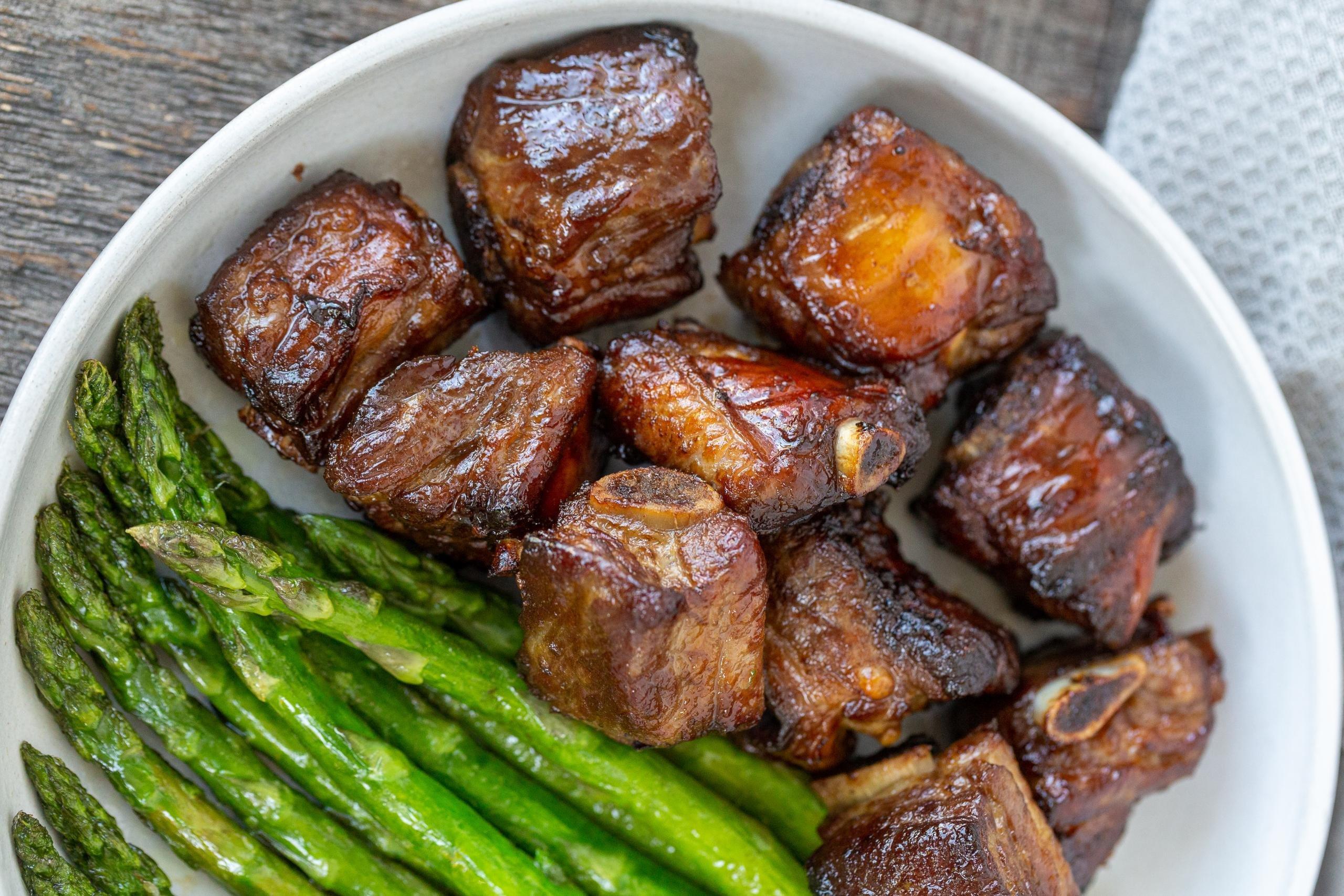 Korean Air Fryer Pork Ribs Easy Momsdish