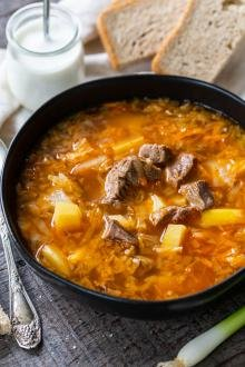 Cabbage Soup recipe in a bowl