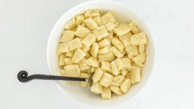 Pierogi in a bowl