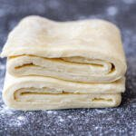 puff pastry on a counter
