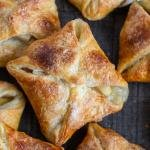 Quick Apple Turnovers on a cooling rack