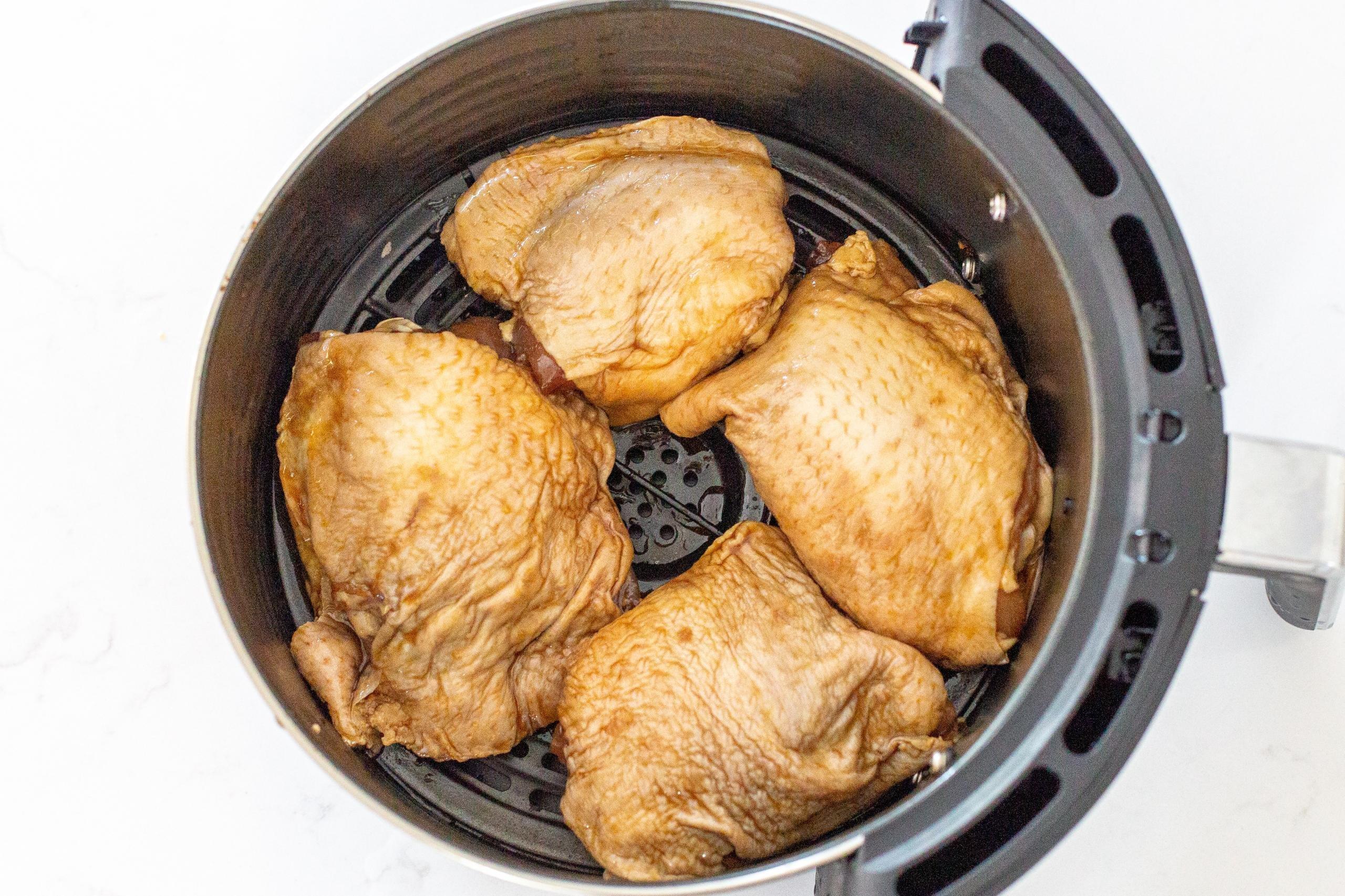 air fryer korean fried chicken thighs