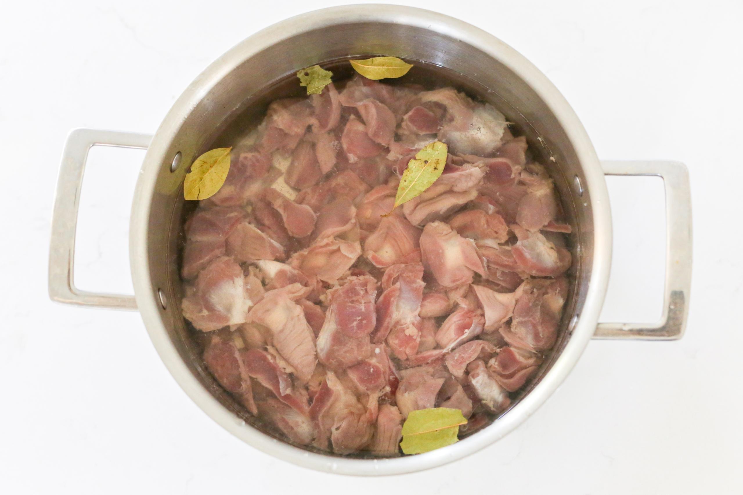 Chicken Gizzard Mushroom Soup Momsdish