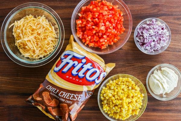 Frito salad ingredients