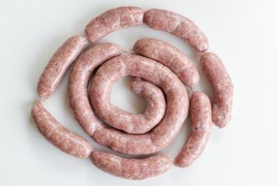Made sausages