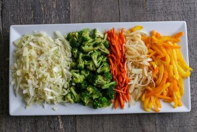Vegetables for Yakisoba Noodles