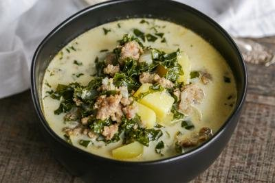 Zuppa Toscana Soup in a bowl