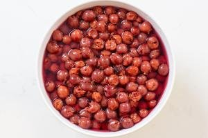 cherries soaking in vodka