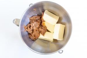 butter and dulce de leche