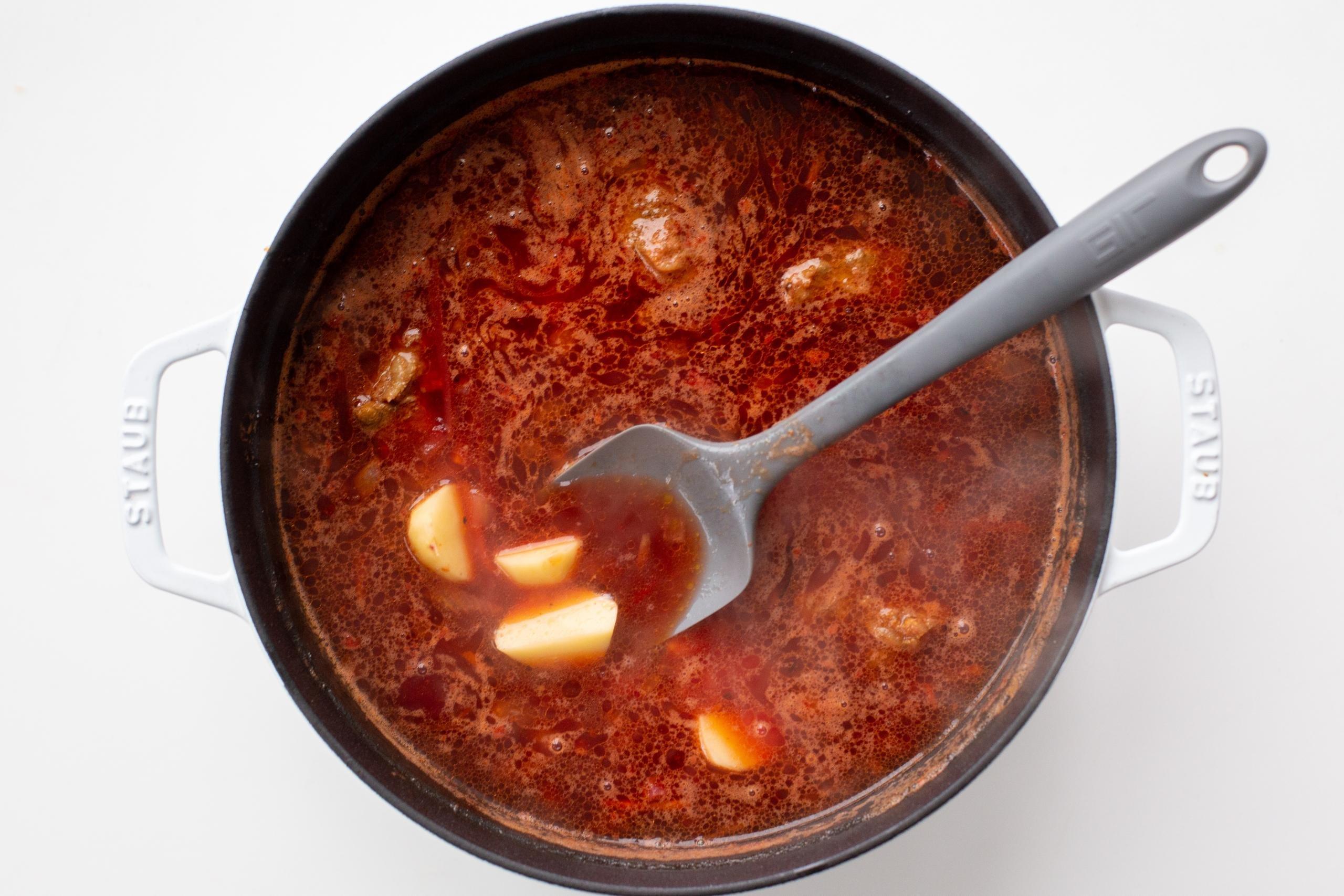 Classic Borscht Recipe Momsdish
