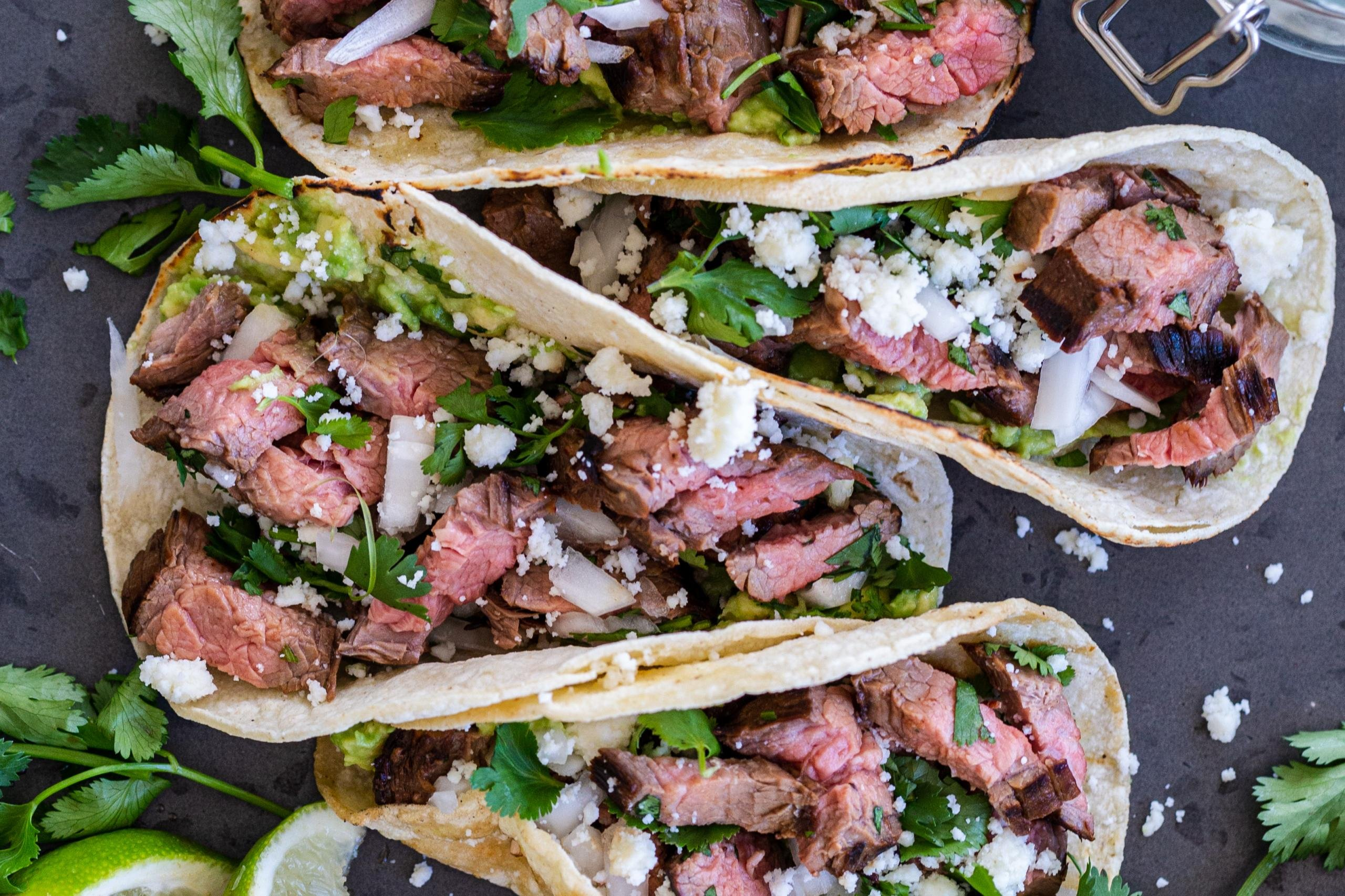 Authentic Carne Asada Street Taco Recipe