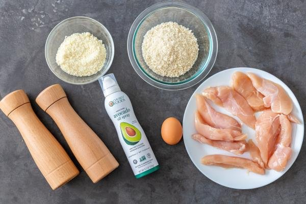 ingredients for chicken tenders