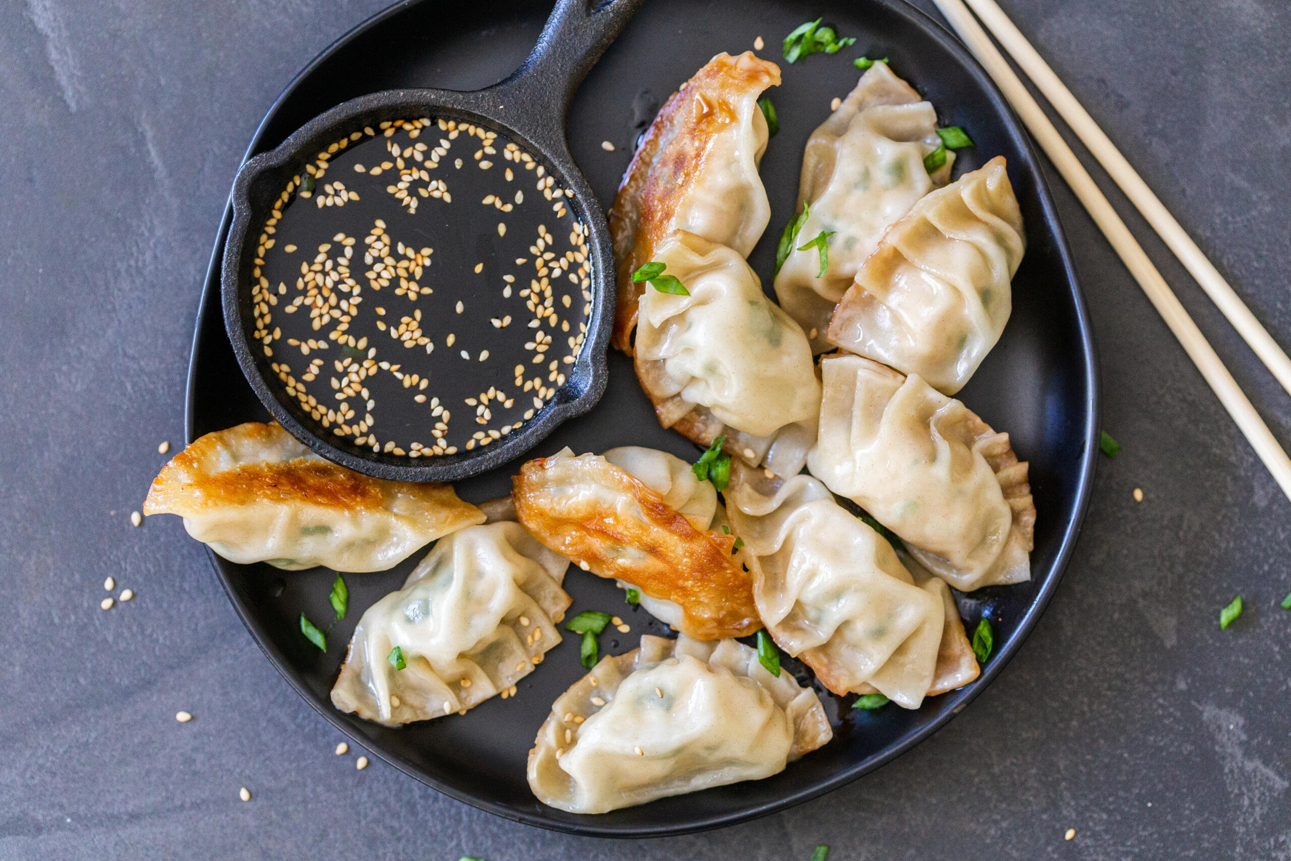 Gyoza Recipe Japanese Dumplings Momsdish