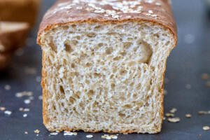 Honey Wheat bread cut