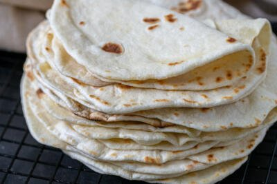 pile of tortillas