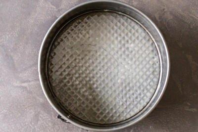 baking pan buttered
