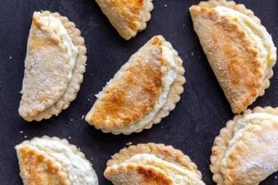 Baked Sweet cheese cookies