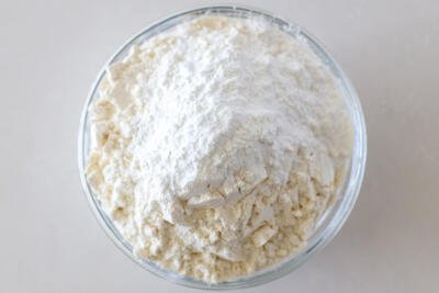 flour and baking powder