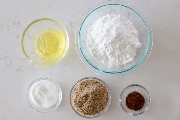 ingredients for coffee macarons