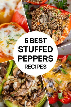 4 pictures of stuffed peppers recipes